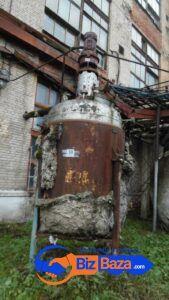 Продается Реактор нержавеющий, объем — 5 куб.м.