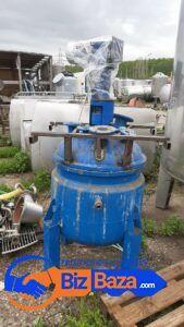 Продается Реактор нержавеющий, объем — 0,3 куб.м.