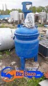 Продается Реактор нержавеющий, объем — 0,5 куб.м.,