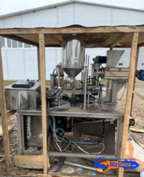 Продается  Автомат по фасовке в стаканчики Пастпак ТФ1-ПАСТПАК Р-08-0,