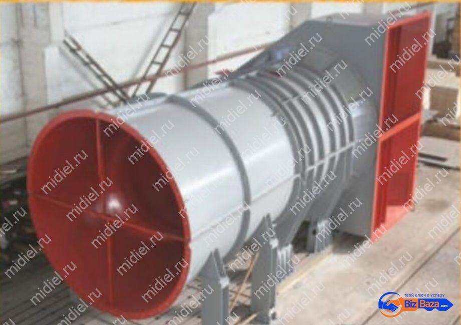 Вентиляторы шахтные главного проветривания