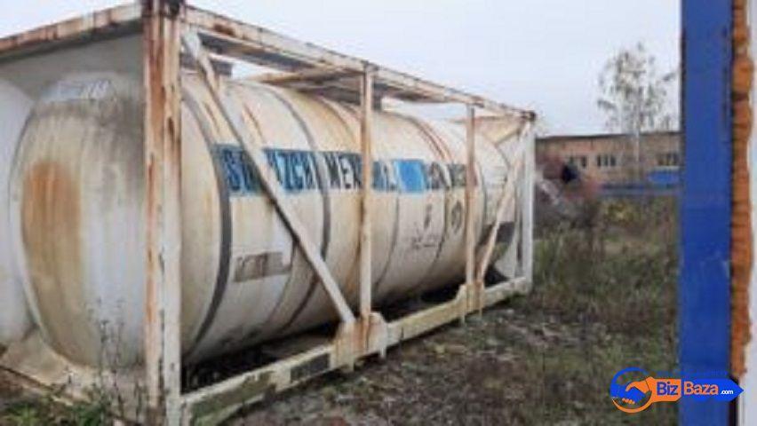 Продается Танк — контейнер нержавеющий, объем -21 куб.м.