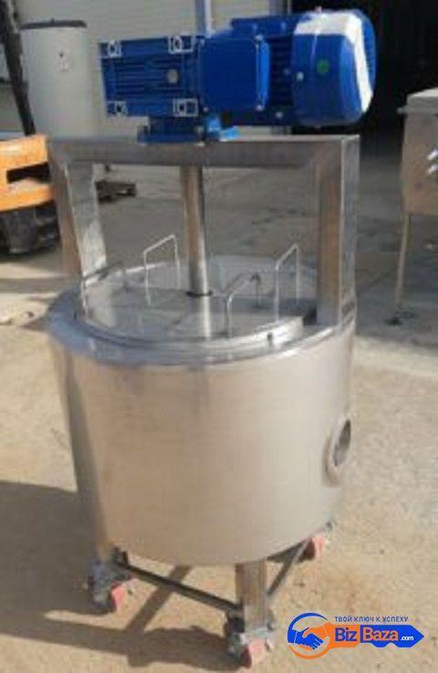 Продается Новая нержавеющая емкость, объем — 0,095 куб.м