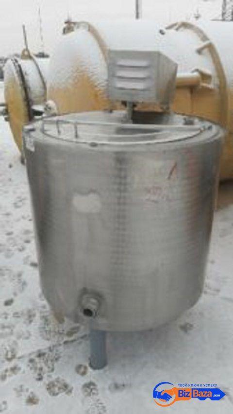 Продается Емкость нержавеющая, объем — 0,350 куб. м.,