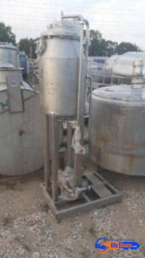 Продается Емкость нержавеющая (деаэратор), объем — 0,15 куб.м.,