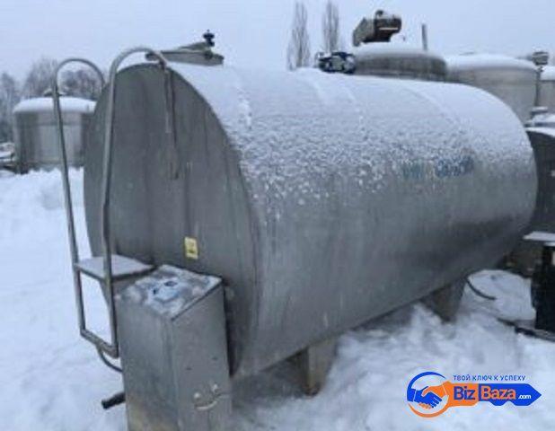Продается Танк-охладитель, объем 6,5 куб.м