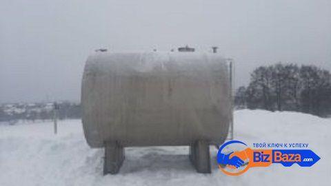 Продается Емкость нержавеющая, объем -13 куб.м.,
