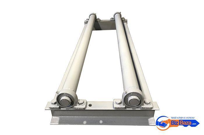 Легкий напольный размотчик рулонного метала BR-S