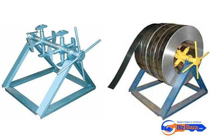 Разматыватель рулонного металла BR4-S-620 / BR5-S-1250