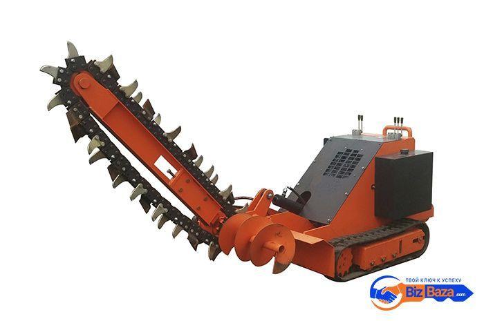 Траншеекопатель модели ТКМГ-1200