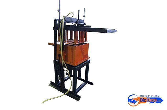 Стационарный станок для изготовления шлакоблоков — СБС-07