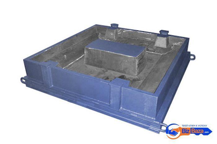 Форма для производства плиты опорной ОП-1Д/ОП-1К
