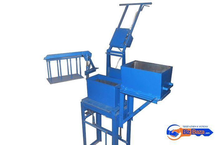 Мини-станок для производства арболита (опилкобетона)