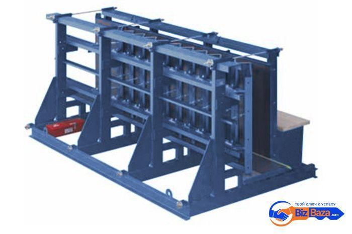 Формы для производства железобетонных лестниц