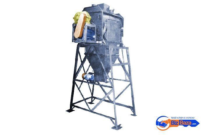 Смеситель сыпучих материалов ССВ-500/750