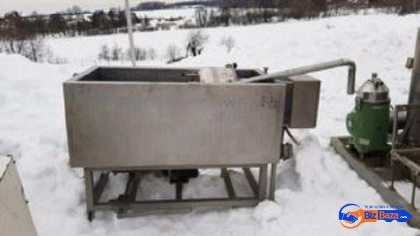 Продается Ванна нержавеющая APV, объем — 0,5 куб.м.,